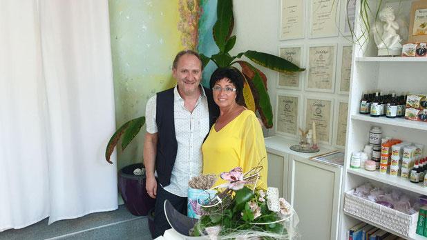 Andreas Nußbaummüller mit Alice Sawatzky