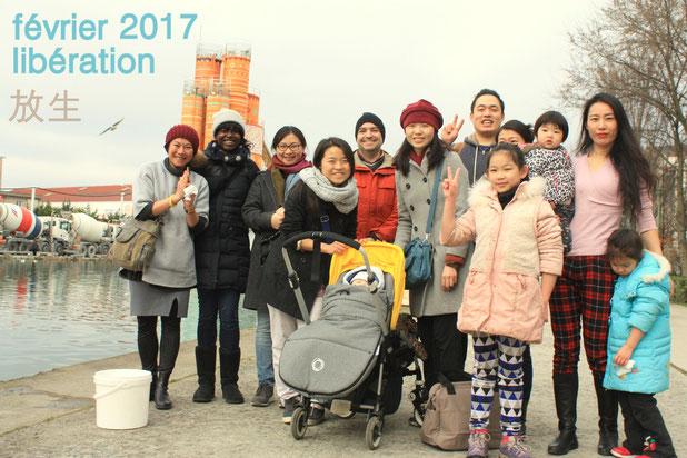 février 2017 - équipe de libération