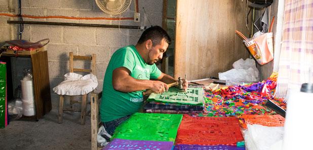 Hängedeko-Mexiko Handgemacht