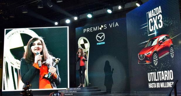 La marca más galardonada durante los Premio Vía 2019 - Foto: Cesvi Colombia