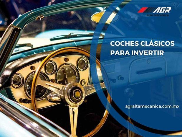 coches clásicos para invertir - restauración de autos clásicos