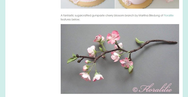 'Cherry Blossom Cakes' | April 16