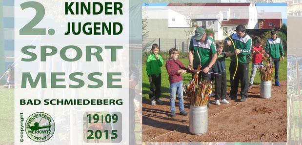 Kinder und Jugen Sportmesse am 19.09.2015 in Bad Schmiedeberg