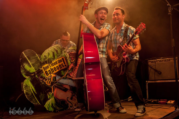Bobbin Baboons Liveclub Bamberg 13.03.2015 Roch´n Roll