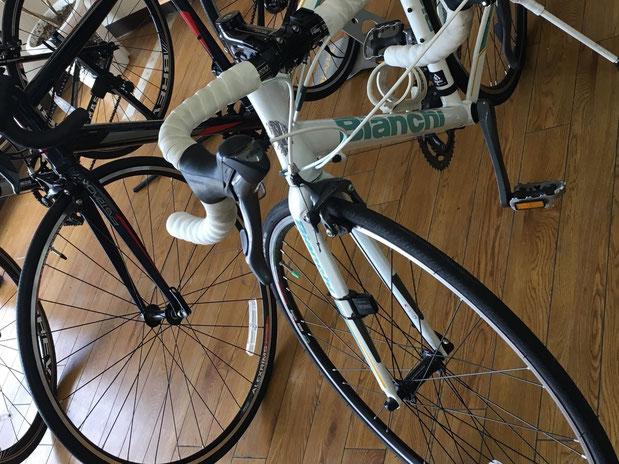 ビアンキ 修理 高松 ロードバイク