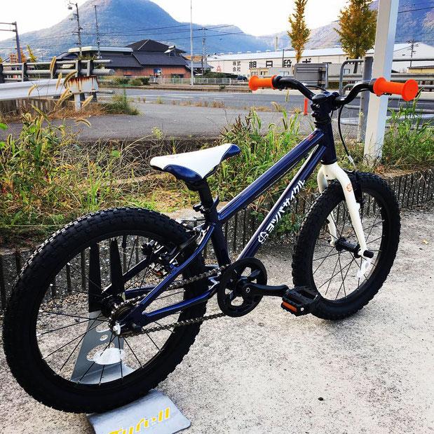 ヨツバサイクル キャプテンネイビー 香川県 高松市 在庫 ヨツバ18