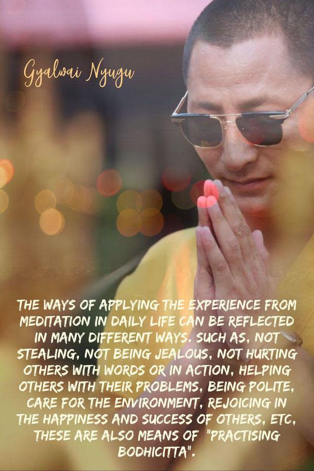 Practising Bodhicitta