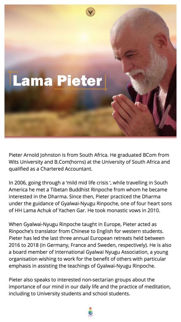 Lama Pieter