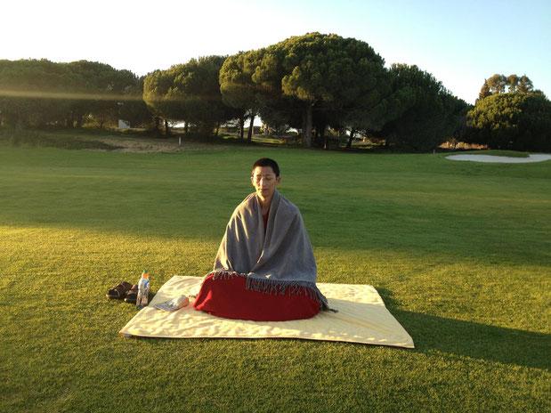 Vidéo de Rinpoché en méditation
