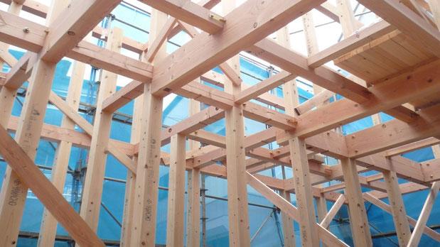 木組みの家 構造見学会