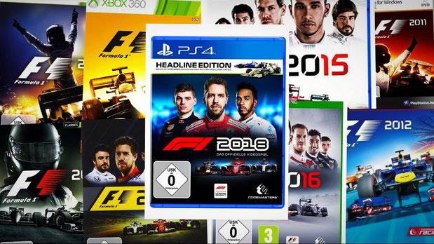 Formel 1 Spiele Übersicht