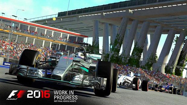 Formel 1 Spiele: F1 2016