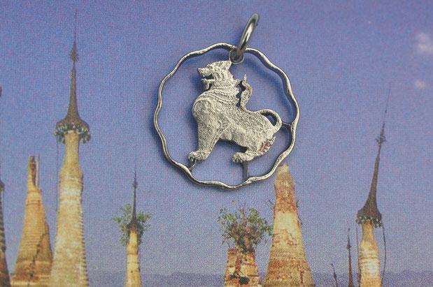 Münzsagewerk Katrin Thull | Burma - Löwe