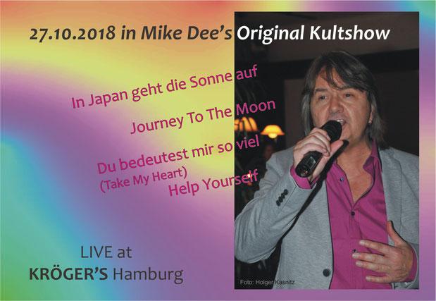 Barry Lane LIVE in Mike Dee's Original Kultshow