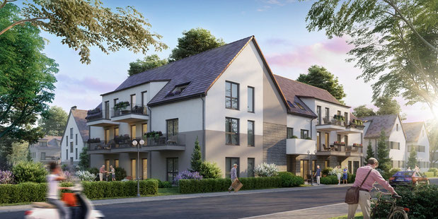 Betreutes wohnen kaufen leipzig eigentumswohnung altersgerechtes wohnen Seniorenwohnung Neubau