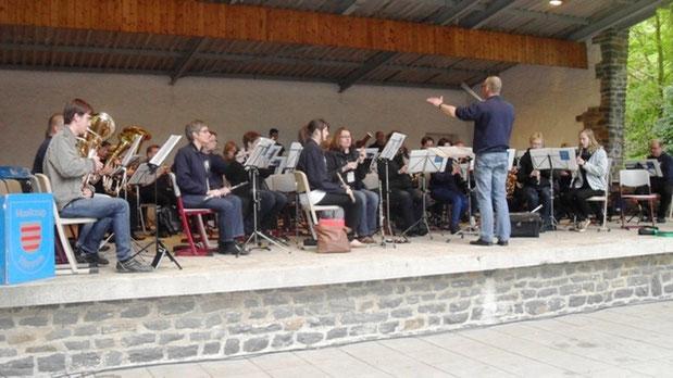 DMF: Platzkonzert auf der Waldbühne in Augustusburg