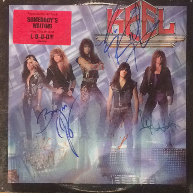 Autograph Keel Autogramm