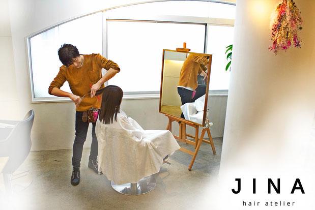 渋谷 表参道 美容室 プライベート ヘアサロン JINA hair atelier ジーナ ヘアアトリエ 三井健司