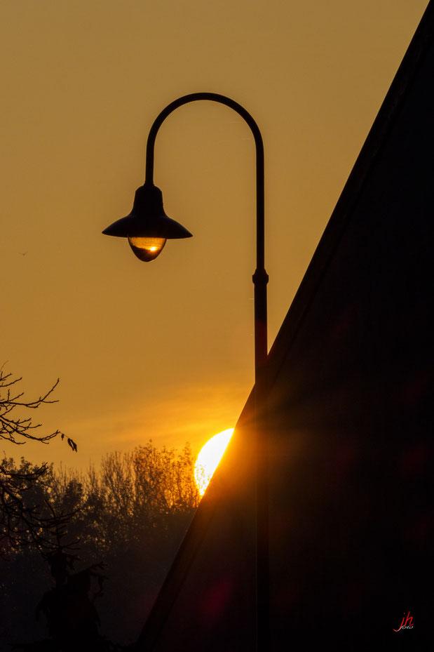 Sonnenaufgang in Mannsdorf