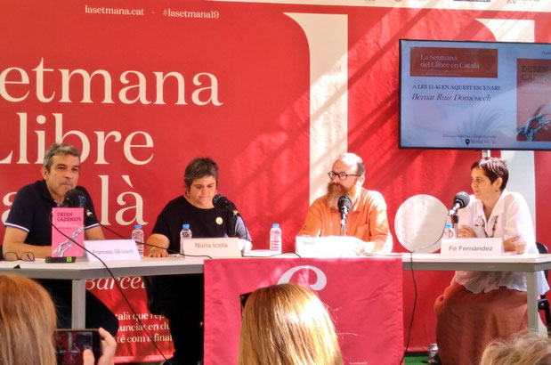 """Presentació de """"Desencadenats"""" a la Setmana del Llibre en Català"""
