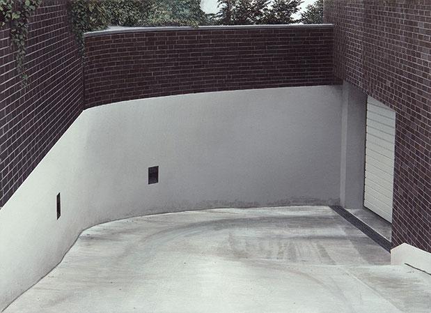 TIEFGARAGE | 2013 | Arcyl auf Nessel | 40 × 55 cm