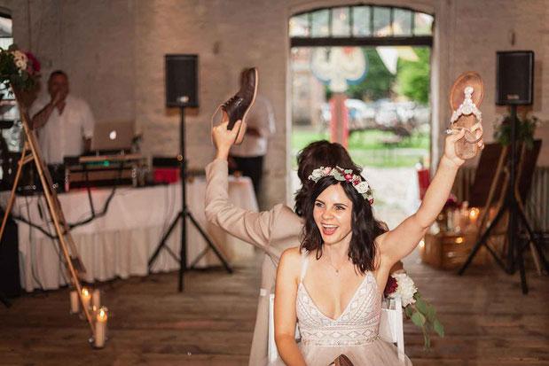 Heiraten im Kuhstall auf Schloss Diedersdorf