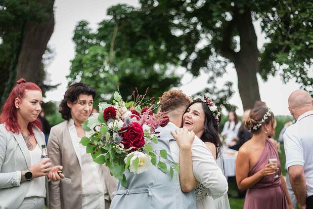 Gratulationen Gäste Hochzeit