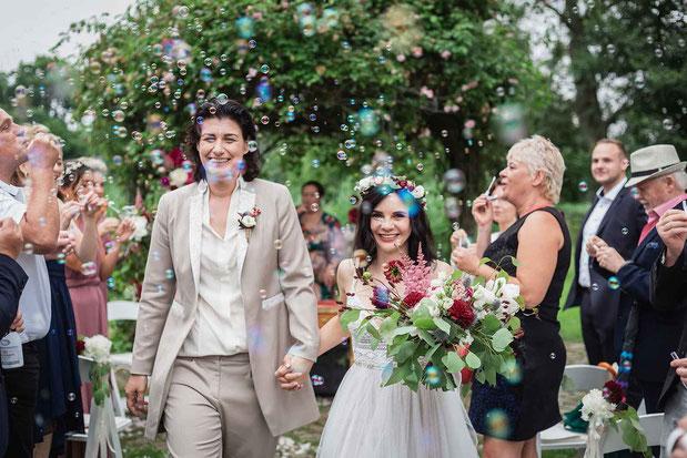 Hochzeit Spalier Ideen