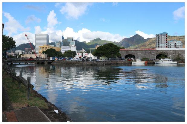 Port Louis Mauritius Sehenswürdigkeiten Caudan Waterfront