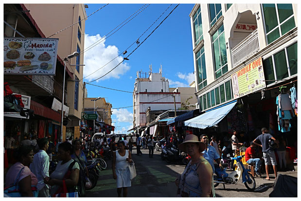 Port Louis Mauritius Sehenswürdigkeiten Caudan Waterfront Zentralmarkt