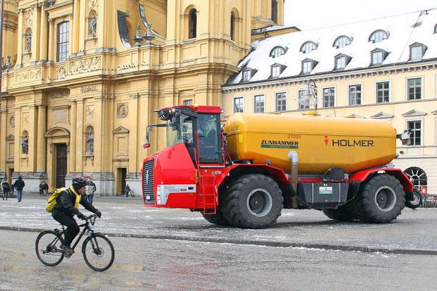 На улицах Мюнхена!