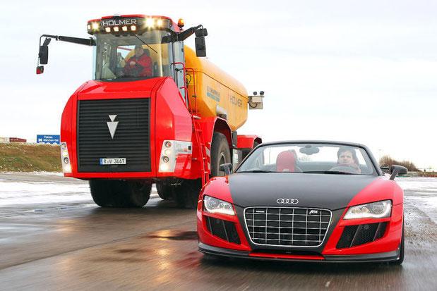 Audi Abt R8 GTS и Holmer Terra Variant 600
