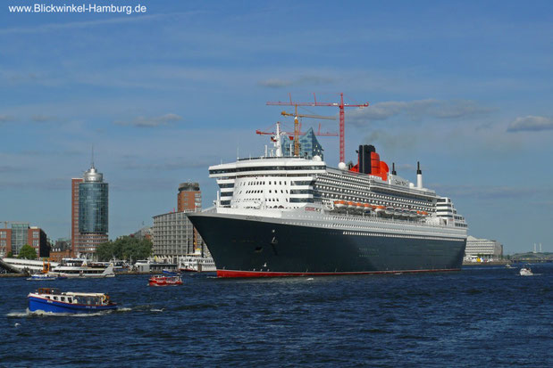 """Unsere"" Queen Mary 2"