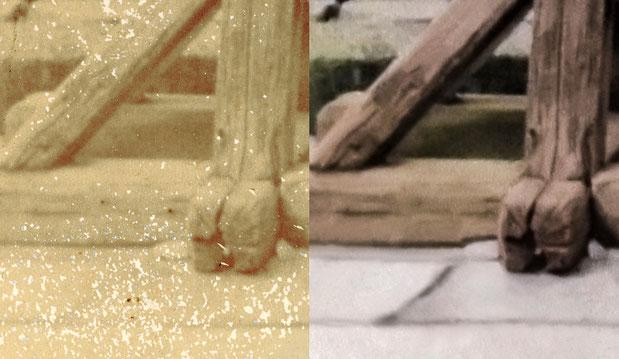 古い写真の修復例10 詳細2