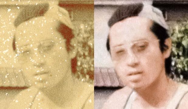 古い写真の修復例10 詳細1