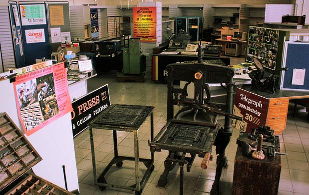Melbourne Museum of Printing Showroom