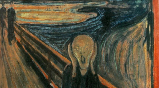 """E. Munch, """"L'urlo"""" (1893)"""