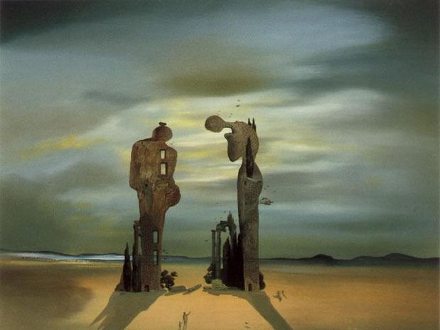 "Salvador Dalì, ""Reminiscenza archeologica dell'Angelus di Millet"" (1935)"