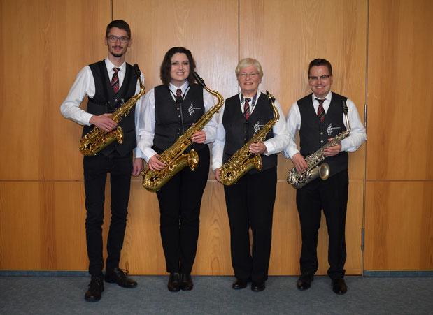 Saxophone der Spielgemeinschaft Hütschenhausen