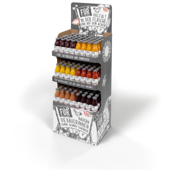 VOELKEL - Display FÜR - neues Konzept - Retail Design - DesignKis 2015
