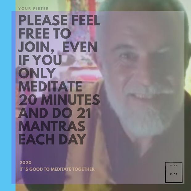 Méditation et enseignements - Retraite online