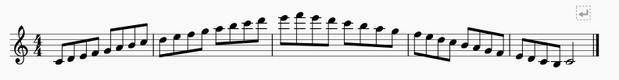 スケール8分音符