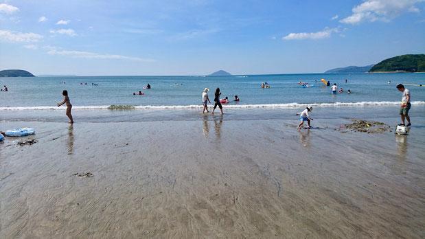 福岡県糸島市二丈深江、深江海水浴場 Fukae Beach Resort