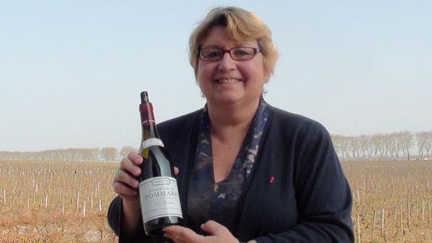"""Anne PARENT et son Pommard """"la CROIX BLANCHE"""" 2010. Primé 5 étoiles ..."""