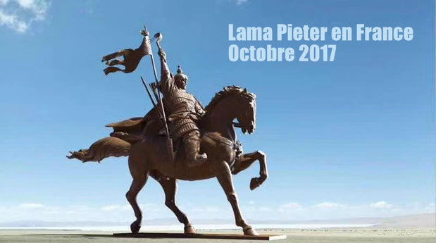 Lama Pieter en France Octobre 2017