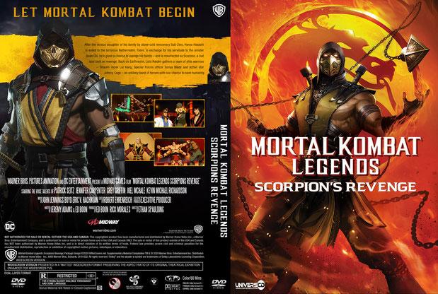 Mortal Kombat Legends Scorpions Revenge