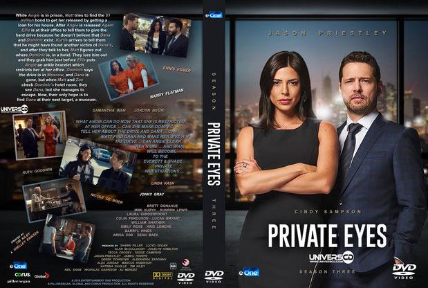 Private Eyes Saison 3