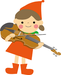 横浜市青葉区青葉台バイオリン・ビオラ教室 分数バイオリンサイズ画像