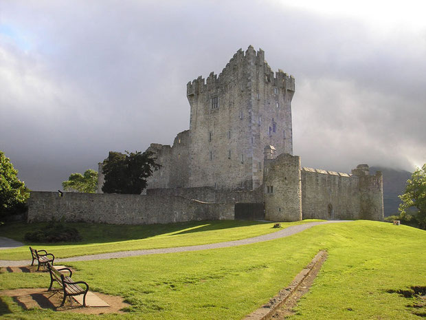 Ross Castle, Killarney National Park, Killarney, Co. Kerry