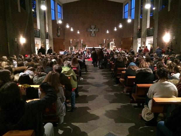 Messe am 12.12.2012